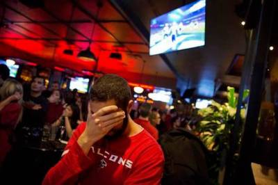 Falcons Fan Sad After Super Bowl Loss