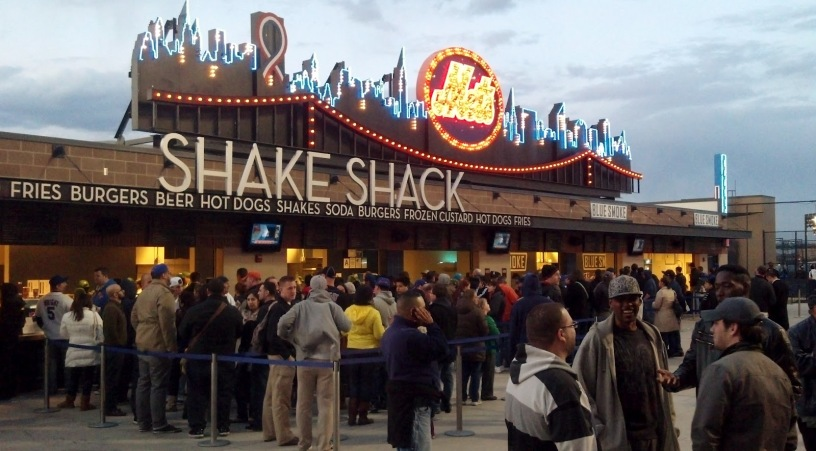 Save money at the game by sharing your Shake Shack burger and fries